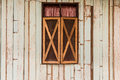 Abstract wooden wall and window  texture background Royalty Free Stock Photo