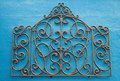 Abstract Wrought Iron Royalty Free Stock Images
