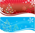 Abstract Xmas background Stock Photo