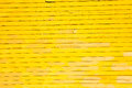 Abstract yellow boards background of horizontal painted Royalty Free Stock Images