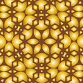 Abstract yellow-brown lace background