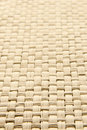Abstract yellow woven thatch textured background Royalty Free Stock Photo
