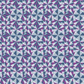 Abstracted seamless pattern from different geometric shape infinite colorful Stock Photo