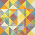 Abstraction seamless triangles and rhombus pattern Royalty Free Stock Photos