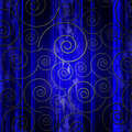 Abstraction with swirls Royalty Free Stock Photo
