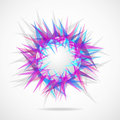 Abstraction from triangles Royalty Free Stock Images