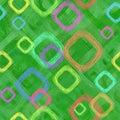 Abstrakcjonistyczni kwadraty tło Zdjęcie Royalty Free