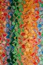 Abstrakt multicolor modell Arkivfoto
