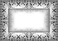 Abstrakte abbildung des ornamental frame Lizenzfreie Stockbilder
