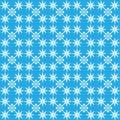 Abstrakte nahtlose blaue Struktur Stockbild