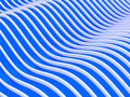 Abstraktes 3d bewegt Hintergrund wellenartig Lizenzfreies Stockfoto