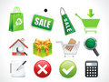 Abstrct sale icons Stock Photography