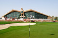 Abu dhabi golf course Royalty Free Stock Images