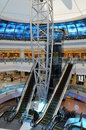 Abu Dhabi Marina Mall in the UAE Royalty Free Stock Images