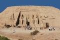 stock image of  Abu simbel Egypt