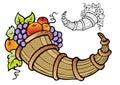 Abundance of fruit crop Royalty Free Stock Photo