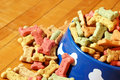 Abundant Dog Treats Royalty Free Stock Photo