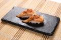 Aburi Salmon (Torched Salmon) Sushi Royalty Free Stock Photo