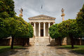 Academia athens one of the most famous th century buildings in Stock Image