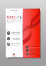 Academic cover design. Conferences, reports, journals. Vector.