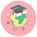 Academic education concept