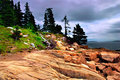Acadia National Park, Maine Stock Image