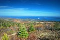 Acadia national park in maine view from cadillac mt Royalty Free Stock Photography