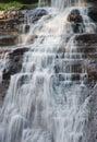 Acadia National Park Waterfall Royalty Free Stock Photo