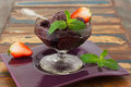 Acai Pulp In Glass With Fresh ...