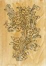 Acanthus golden decor