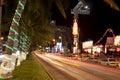 Acapulco Nightlife Royalty Free Stock Photo