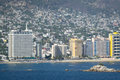 Acapulco waterfront Royalty Free Stock Photo
