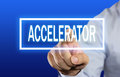Accelerator Concept Royalty Free Stock Photo