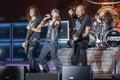 Accept at metalfest heavy metal band festival czech in pilsen Stock Image