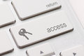 Access enter key and keys icon Royalty Free Stock Photos