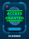 Access Granted Royalty Free Stock Images