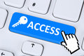 Access internet web www key data protection lock computer security Royalty Free Stock Photo