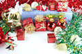 Accessory decorations in christmas or new year Royalty Free Stock Images