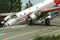 Accident d'avion Image stock