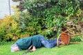 Accident, Garden Fall Over. Da...