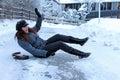 Nehody v ľadový cesty