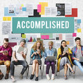 Accomplished Achieve Development Excellence Concept Royalty Free Stock Photo