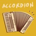 Accordion Royalty Free Stock Image