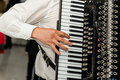 Accordion a traditional musical instrument used in any party or festival in the eastern europe photo taken on november st Stock Photography