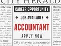 Accountant career Royalty Free Stock Photo