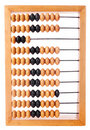 Accounting abacus Royalty Free Stock Image