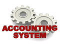 Accounting system Royalty Free Stock Image