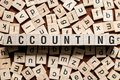 stock image of  Accounting word concept