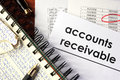 Accounts receivable Royalty Free Stock Photo