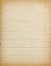Accurate vintage lined paper empty background Royalty Free Stock Photo